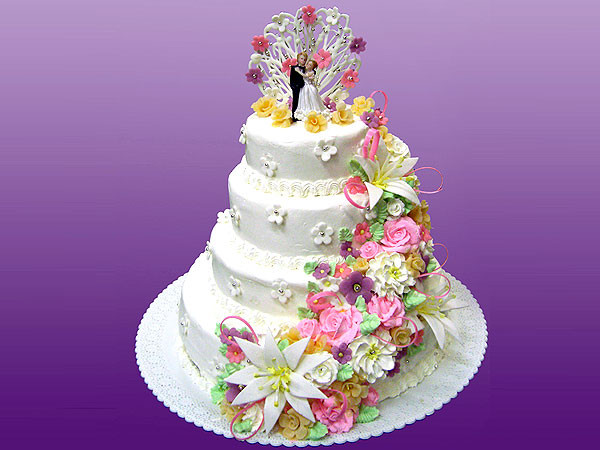 Фотогравии свадибные торты